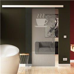 Glasschiebetüre Levidor Küchen-Design invers für Küche Speisezimmer