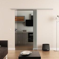 Dorma Agile 50 Glasschiebetür Klarglas (K)