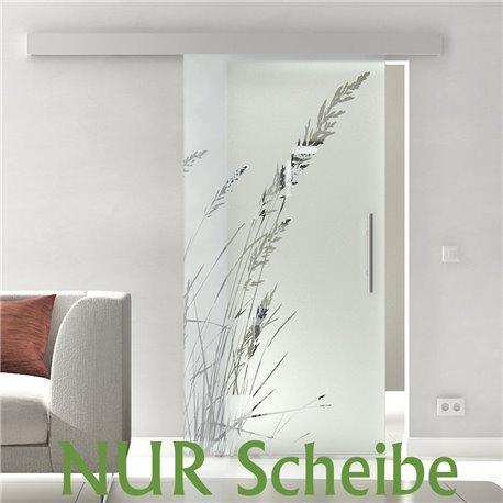 Glasschiebetür Scheibe Klarglas Glas ESG in 8 mm