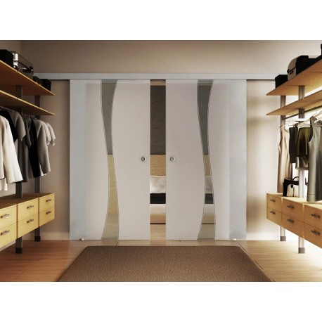 Dorma Agile 50 Glasschiebetür Design-Berlin (B) 2 Scheiben