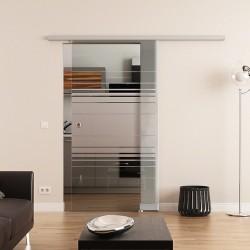 Dorma Agile 50 Glasschiebetür Horizont-Design (H)