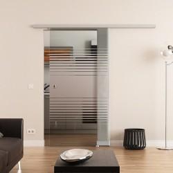 Dorma Agile 50 Glasschiebetür Lamellen-Design (L)