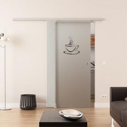 Dorma Agile 50 Glasschiebetür Küchen-Design