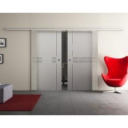 Dorma Agile 50 Glasschiebetür Idea-Design (I) 2 Scheiben