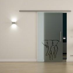 Levidor ProfiSlide SoftClose-Schiebetür Elefanten-Design