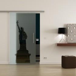 Levidor ProfiSlide SoftClose-Schiebetür New York-Design