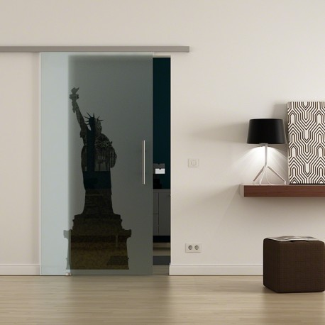 Levidor ProfiSlide SoftClose-Schiebetür New York-Design