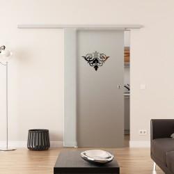 Dorma Agile 50 Glasschiebetür Emblem 2 - Design