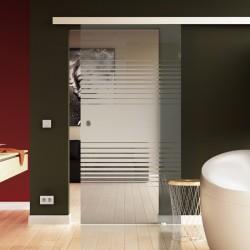 Glasschiebetür Komplettset Soft Close Option Küche & Wohnzimmer