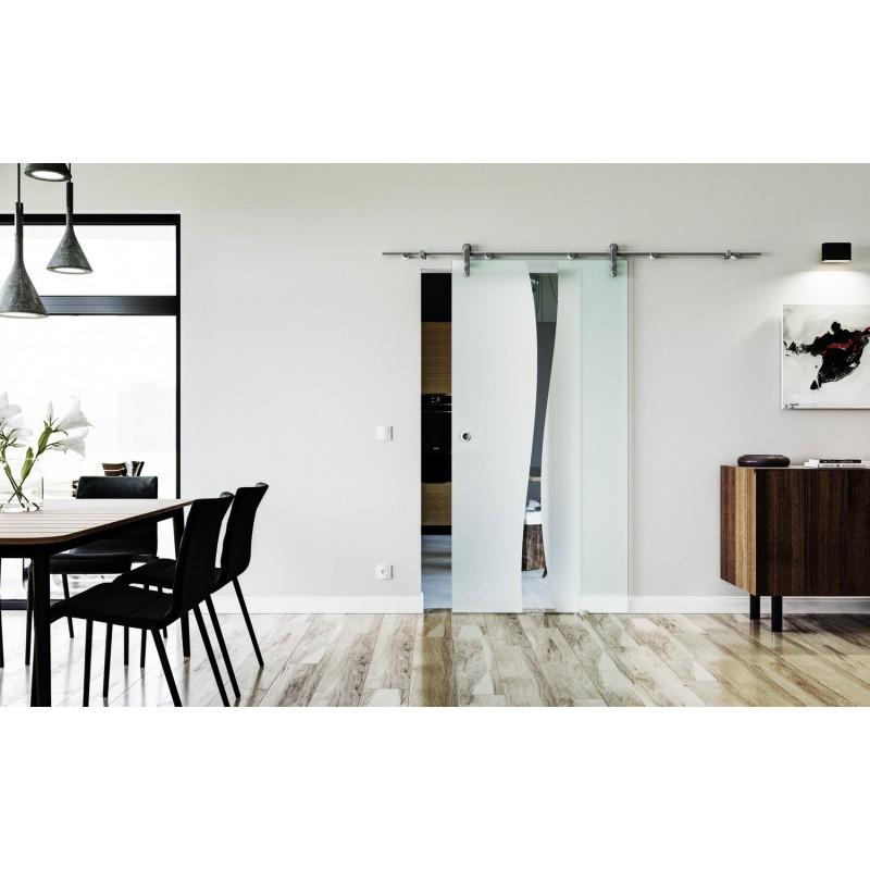 Glasschiebetüren Berlin design berlin b glasschiebetür edelstahlbeschlag mit offenen
