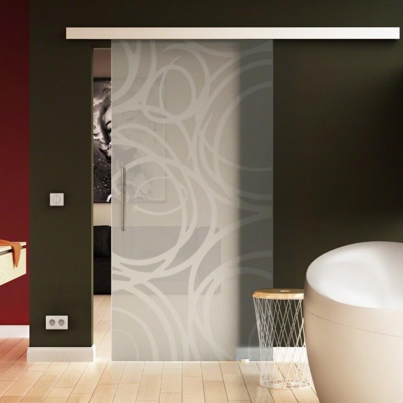 glasschiebet r basic beschlag schiebetuer glas komplettset. Black Bedroom Furniture Sets. Home Design Ideas