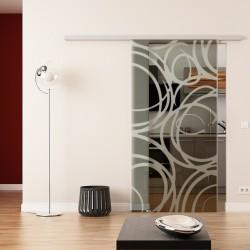 Dorma Muto 60 Glasschiebetür Kugelschreiber-Design