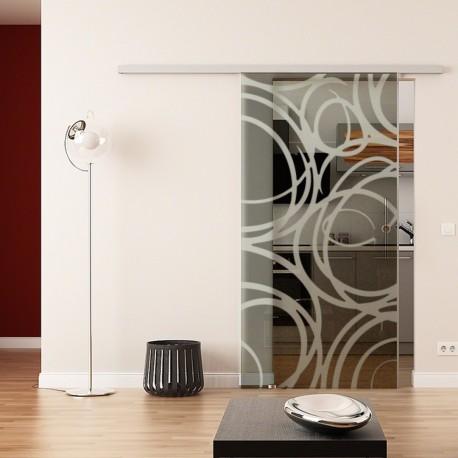 Dorma Agile 50 Glasschiebetür Kugelschreiber-Design