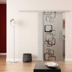 Dorma Agile 50 Glasschiebetür Ketten-Design
