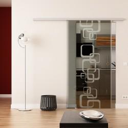 Dorma Agile 50 Glasschiebetür Ketten-Design (invers)