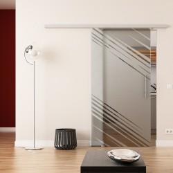 Dorma Agile 50 Glasschiebetür Stadt-Design