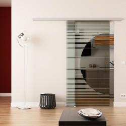 Dorma Agile 50 Glasschiebetür Orbit-Design (invers)