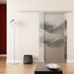 Dorma Agile 50 Glasschiebetür Luft-Design