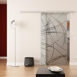 Dorma Agile 50 Glasschiebetür Kurven-Design (2)