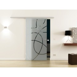 Levidor SoftClose-Schiebetür Ellipsen-Design (E) ProfiSlide System