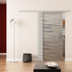 Dorma Agile 50 Glasschiebetür Flügel-Design