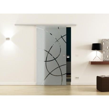 Levidor SoftClose-Schiebetür Ellipsen-Design Frankfurt (F)
