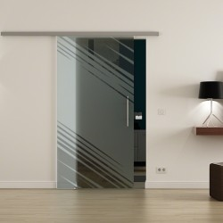 Levidor Profislide SoftClose-Schiebetür Stadt-Design