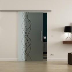 Levidor Profislide SoftClose-Schiebetür Rauch-Design