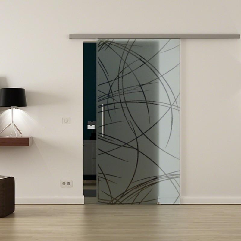 Levidor Profislide SoftClose-Schiebetür Kurven-Design (2 ...