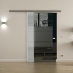 Levidor SoftClose-Schiebetür Lamellen-Design (L)