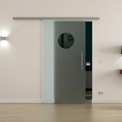 Levidor ProfiSlide SoftClose-Schiebetür Kreis-Design / Guck-Loch