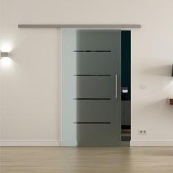 Levidor ProfiSlide SoftClose-Schiebetür Streifen-Design zeitlos
