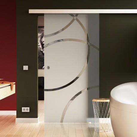 Levidor ProfiSlide SoftClose-Schiebetür Circle-Design Denver (D)