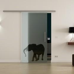 Levidor ProfiSlide SoftClose-Schiebetür Elefanten-Design (2)