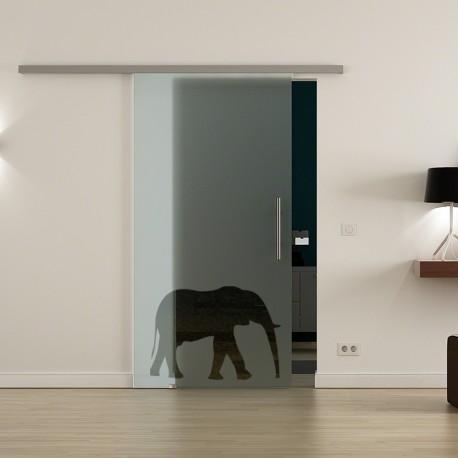 Levidor ProfiSlide SoftClose-Schiebetür Elefanten-Design (3)