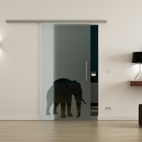 Levidor ProfiSlide SoftClose-Schiebetür Elefanten-Design (4)
