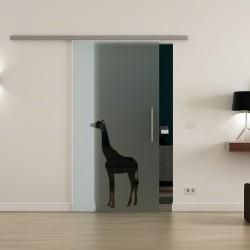 Levidor ProfiSlide SoftClose-Schiebetür Giraffen-Design (2)