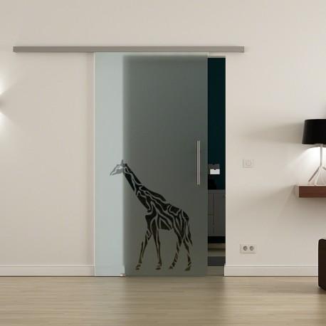 Levidor ProfiSlide SoftClose-Schiebetür Giraffen-Design (3)