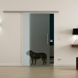 Levidor ProfiSlide SoftClose-Schiebetür Hund-Design (1)