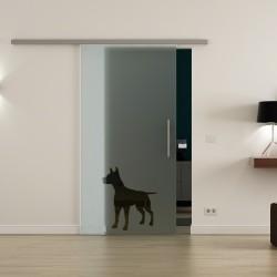 Levidor ProfiSlide SoftClose-Schiebetür Hund-Design (2)