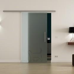 Levidor ProfiSlide SoftClose-Schiebetür Katze-Design (2)