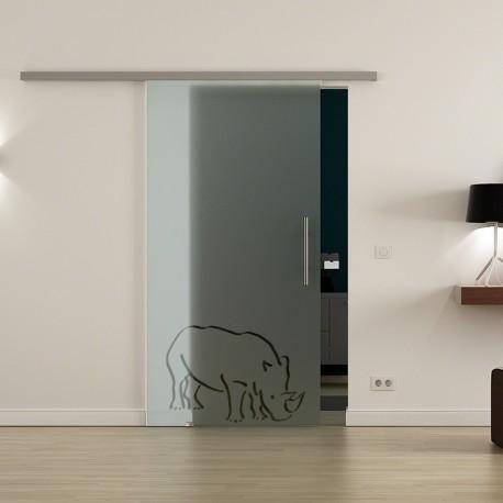 Levidor ProfiSlide SoftClose-Schiebetür Nashorn-Design
